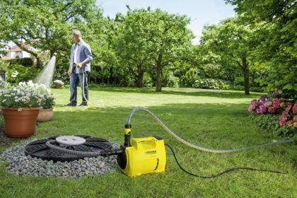 Использование поверхностного насоса для полива сада