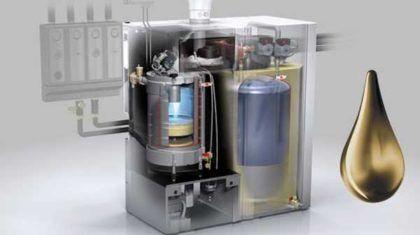 Котлы на жидком топливе также бывают бытовые и промышелныне