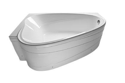Маленькая акриловая угловая ванна