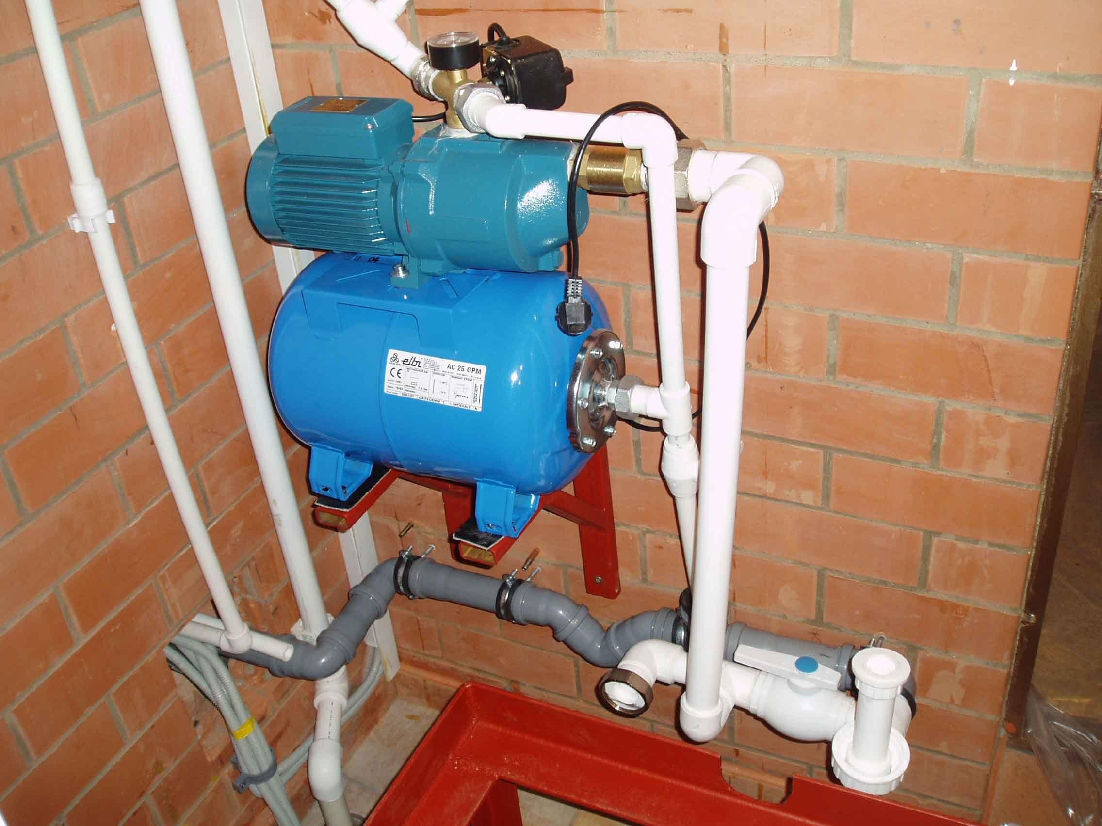 Монтаж водоснабжения на даче своими руками