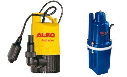 Насос для откачки воды. Механическая очистка воды подразумевает чистку всей конструкции колодца