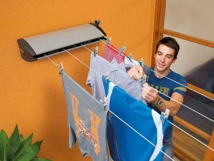 Не сушите белье в ванной