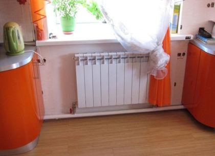 Однотрубное отопление с нижней разводкой