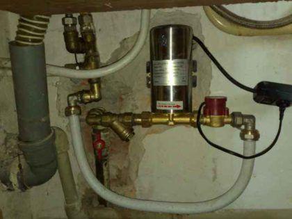 Повышаем давление в водопроводе