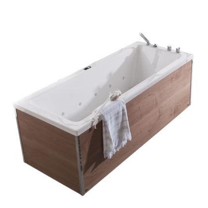 Пристенная прямоугольная ванна