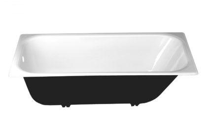 Чугунная ванна – простая, но очень крепкая и надежная