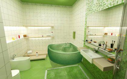 Широкое разнообразие форм и расцветок является самым важным преимуществом акриловых ванн