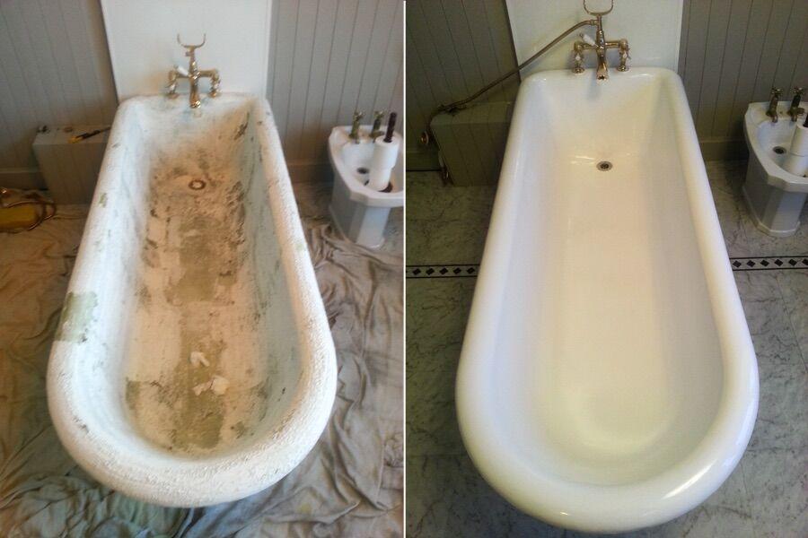 Инструкция эмалировки ванны
