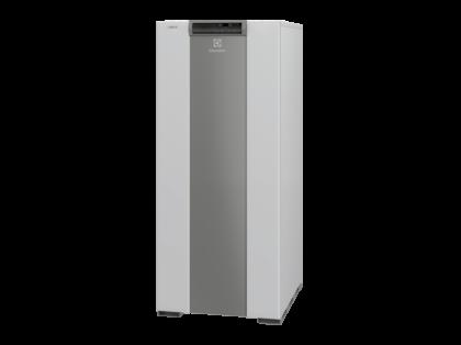 Напольный двухконтурный котёл Electrolux с атмосферной горелкой чугунным теплообменником со встроенным 100 литровым бойлером серии FSB 15 Mi/HW