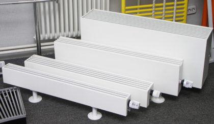 Водяные конвекторы отопления: выбор, принцип работы, монтаж