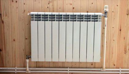 Подключение радиатора в частном доме к открытой двухтрубной системе отопления диагональным способом