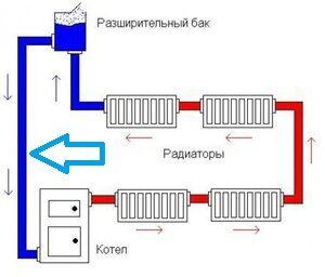 Отводящий трубопровод