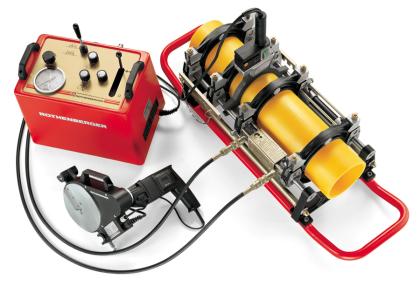 Механический аппарат для пайки полипропиленовых труб