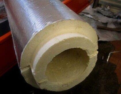 Пенополиуретановая оболочка для утепления пластиковых и железных канализационных труб