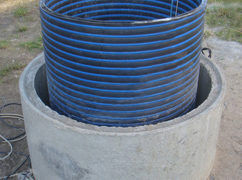 Ремонт колодцев пластиковыми кольцами