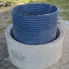 Пластиковые кольца устанавливаемые в колодец