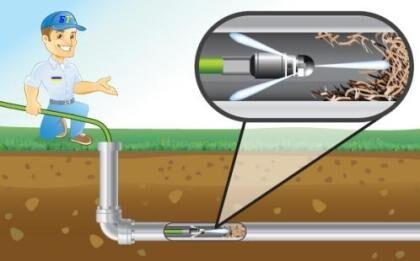 Принцип работы аппарата для прочистки канализации