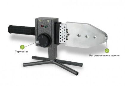 Сварочный аппарат для полипропиленовых труб - фото