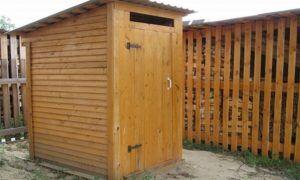 Септик для туалета на даче