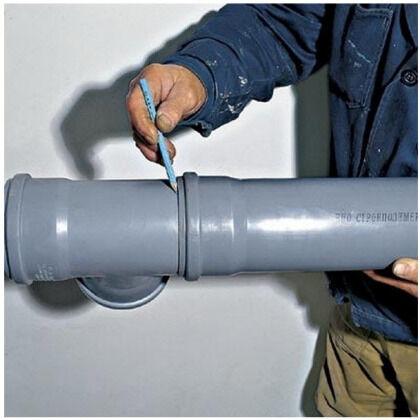 Соединение труб через раструб