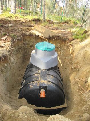 Технология установки автономной канализации «Rostok»