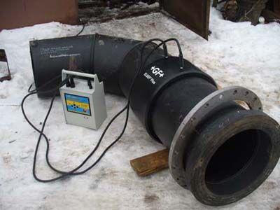 Электромуфтовая сварка пластиковых труб