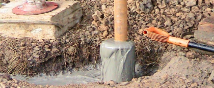 Цементирование скважины