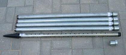 Комплект труб для абиссинского колодца