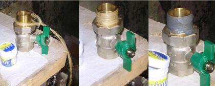 Обеспечение герметичности резьбовых соединений в водопроводе