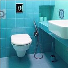 Универсальные гигиенический душ на унитазе