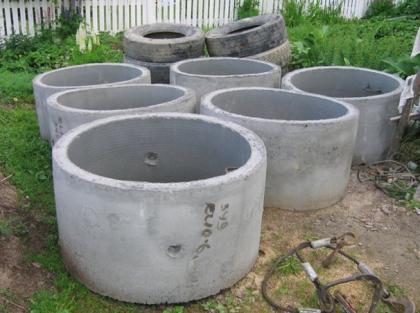 Бетонные кольца для колодцев
