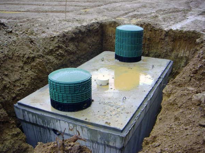 Капитальный бетонный септик