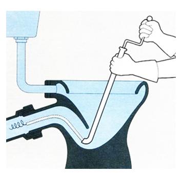 Применение сантехнического троса