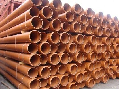 Трубы из немодифицированного поливинилхлорида