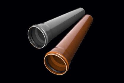 Трубы НПВХ для наружного и внутреннего использования (по цветам)
