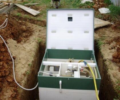 Заполнение станции водой