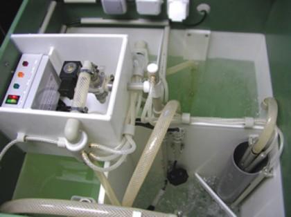 Вода в септике для утяжеления