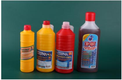 Химические средства для прочистки унитазов