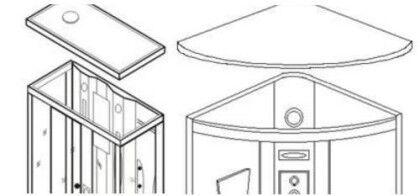 Установка потолочной панели