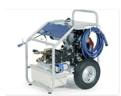 Гидроструйный аппарат с бензиновым двигателем