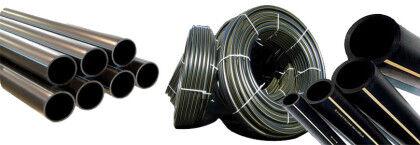 Трубы ПНД разного диаметра