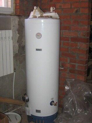 Накопительный газовый водонагреватель