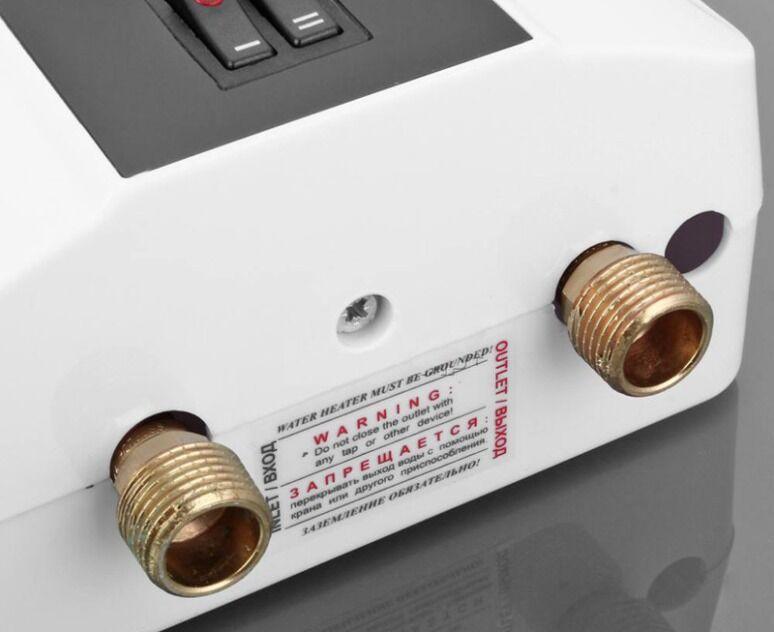 Проточный безнапорный электрический водонагреватель