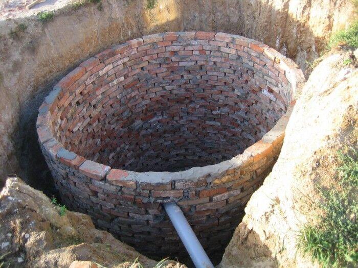 современное чем обложить сливную яму на болотестой местности счет