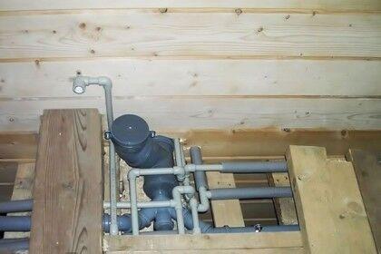 Системы канализации и водопровода
