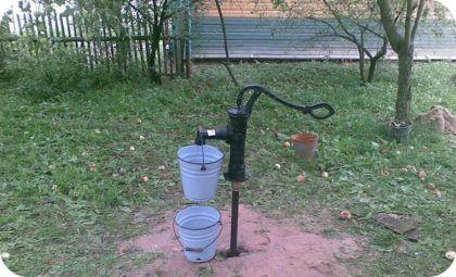 Использование абиссинской скважины