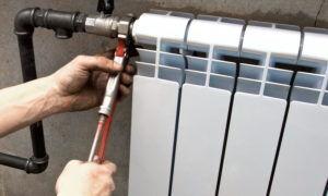 Установка батарей отопления своими руками