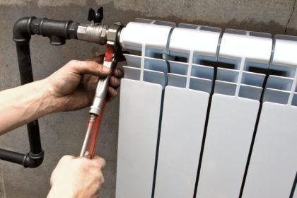 Как установить радиатор своими руками