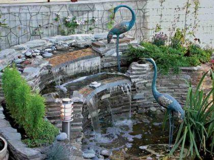 Каскадный фонтан