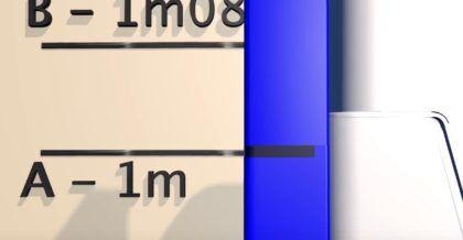 Некоторые рамы для систем инсталляции имеют отметку на стойке для регулирования высоты